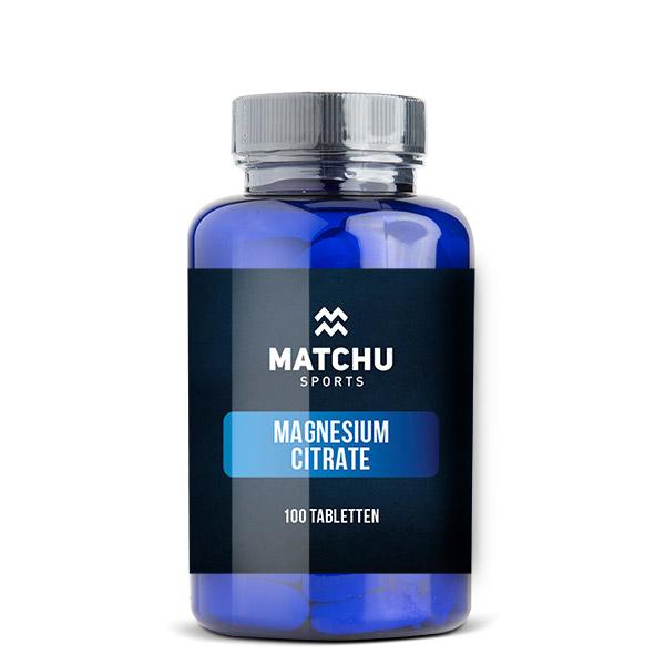 Magnesiumcitraat – 100 tabletten