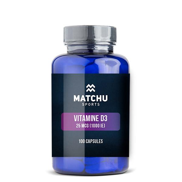 Matchu Vitamine D3 - 100 capsules