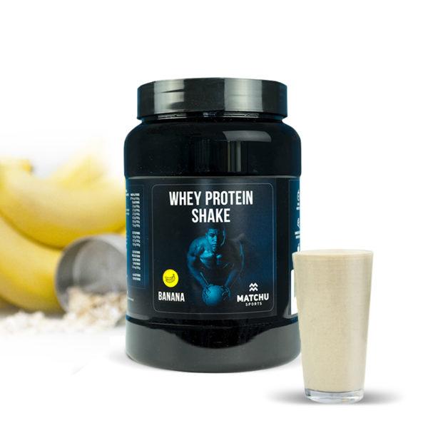 Matchu Whey Eiwitshake - Proteine shake - Banaan 1 kg