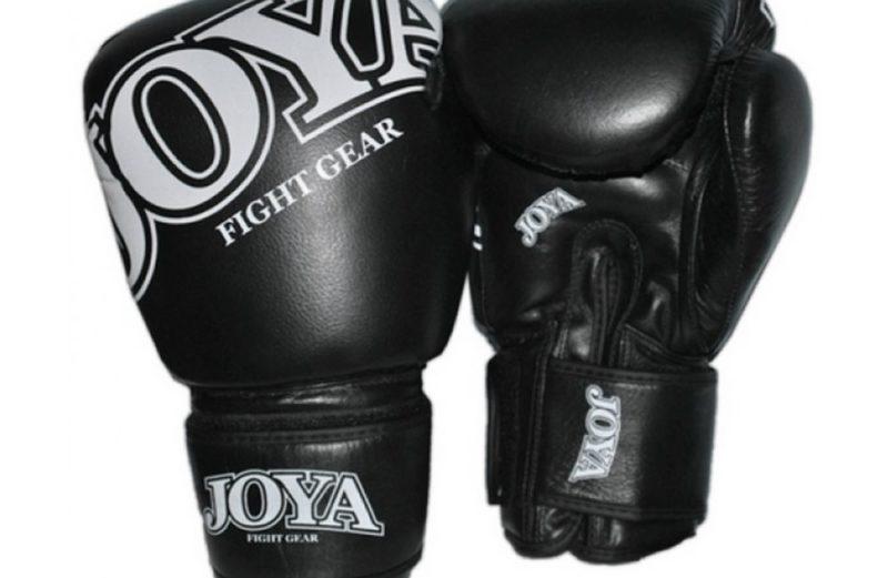 Joya Thai Kickbokshandschoenen Zwart Leer
