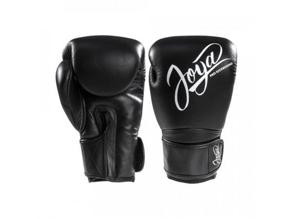Joya Thailand Pro Kickboxing Bokshandschoenen zwart Leer
