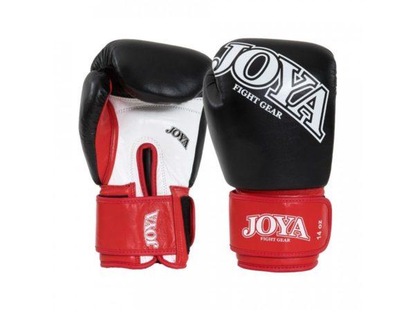Joya Thai Kickbokshandschoenen Zwart/rood Leer