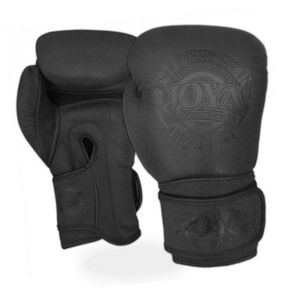 Joya-Kickbokshandschoenen-Fight-Fast-leer-zwart