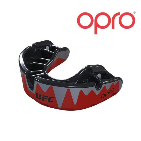 UFC OPRO PLATINUM mondbeschermer bitje- red metal black