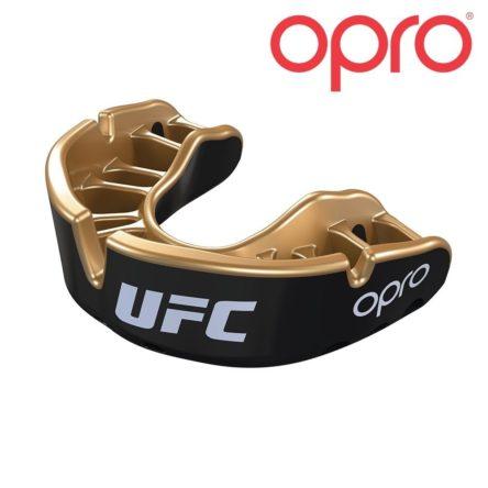 UFC OPRO GOLD JR BLACK METAL/GOLD mondbeschermer bitje