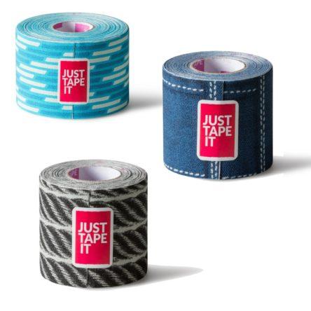 kinesiology tape van Just Tape It