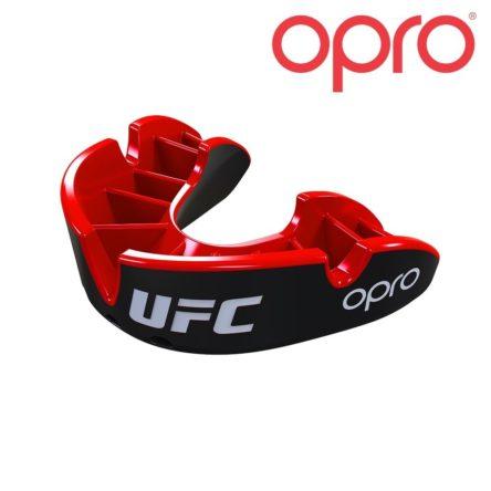 UFC OPRO SILVER JR BLACK/RED mondbeschermer bitje