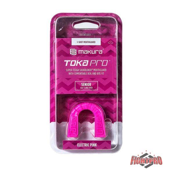 Makura Toka Pro Gebitsbeschermer - bitje Electric pink