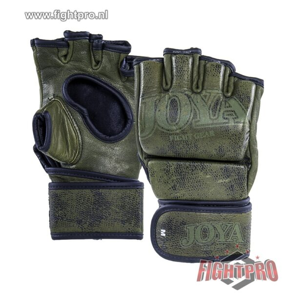 "JOYA ""FIGHT FAST"" MMA GRIP - LEER - GROEN"