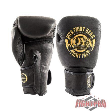 """Joya """"Fight Fast"""" leer bokshandschoenen – Zwart/Goud"""