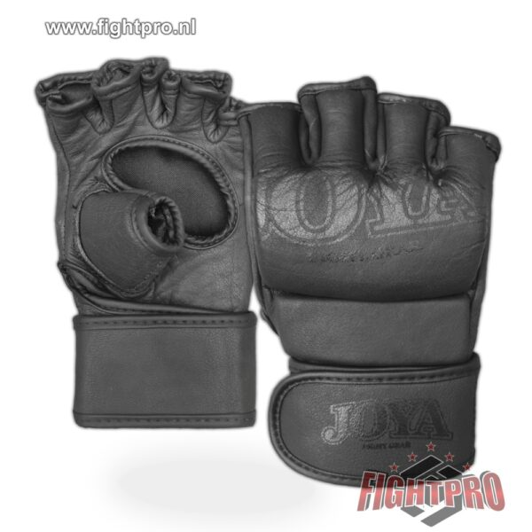 MMA Grip JOYA Fight Fast Leather Black Front