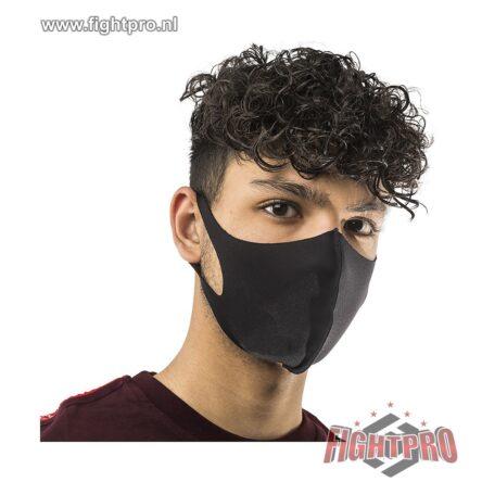 3D mondkapje zwart