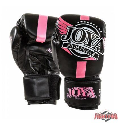 Joya-kickbokshandschoenen Junior zwart roze