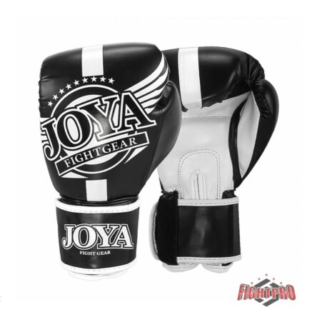 Joya-kickbokshandschoenen Junior zwart wit