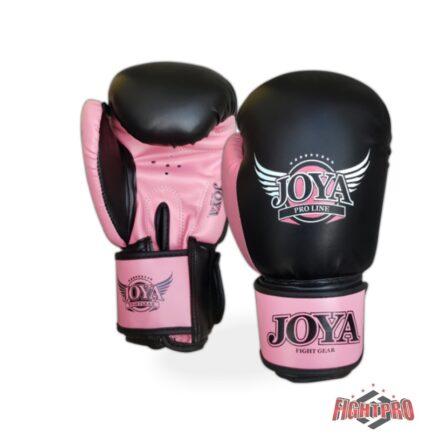 Joya-kickbokshandschoenen-PU-Top-Ten zwart roze
