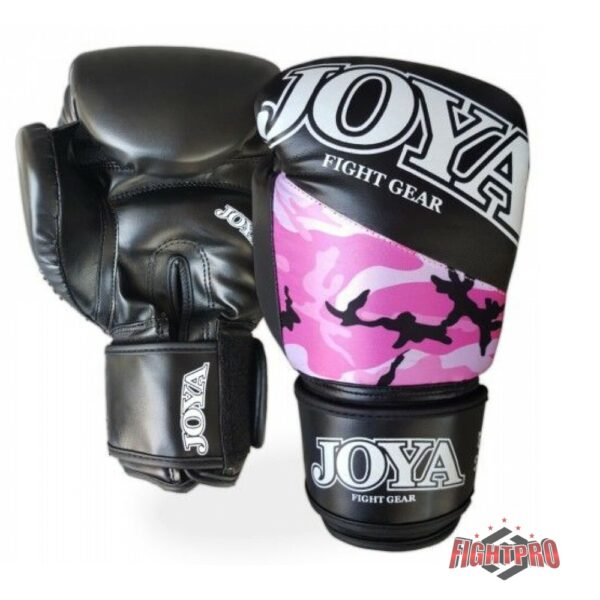 Joya kickbokshandschoenen Top One Camo roze
