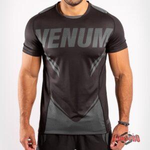 Venum ONE FC Impact Dry Tech T-Shirt - Black/Black