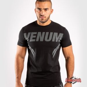 Venum ONE FC T-Shirt - Black/ Black