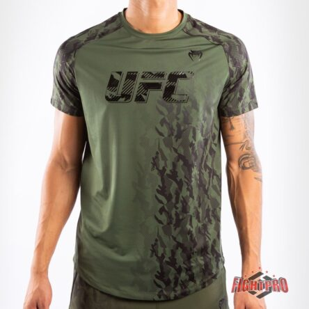 VENUM UFC FIGHT WEEK DRY TECH SHIRT – KHAKI