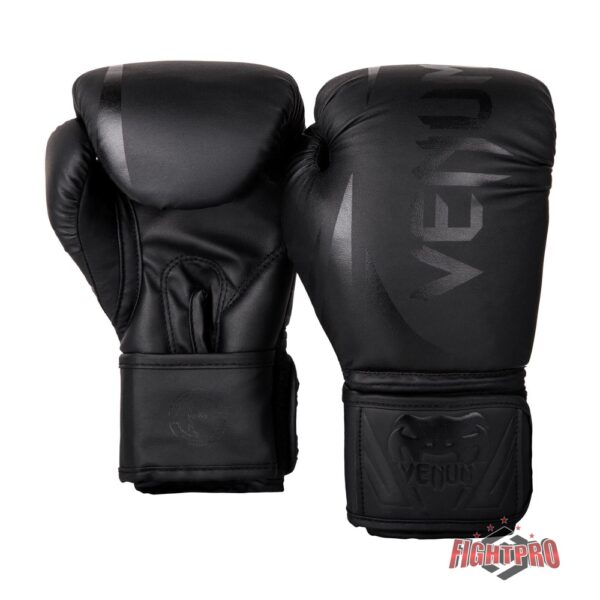 Venum Challenger 2.0 Kids Boxing Gloves - Black/Black