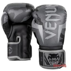 Venum Elite Boxing Gloves Kickbokshandschoenen Black/Dark Camo